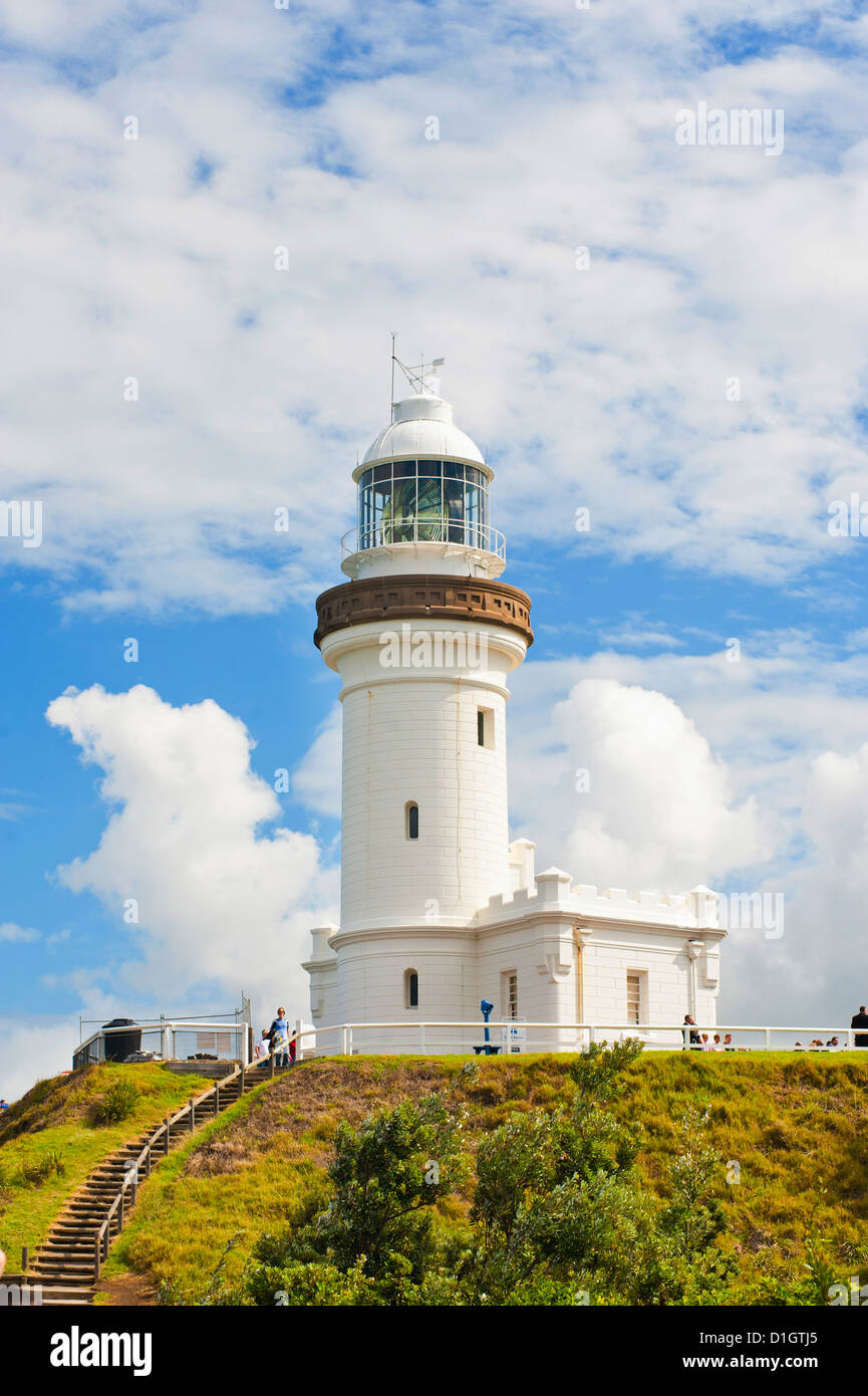 Cape Byron lighthouse, New South Wales, Australia, Pacific - Stock Image
