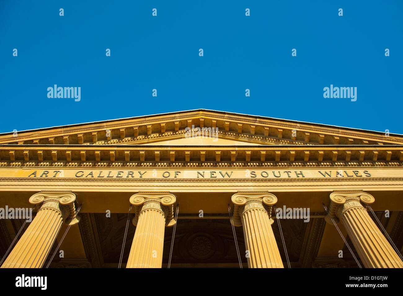 Art Gallery of New South Wales, Sydney, New  South Wales, Australia, Pacific - Stock Image
