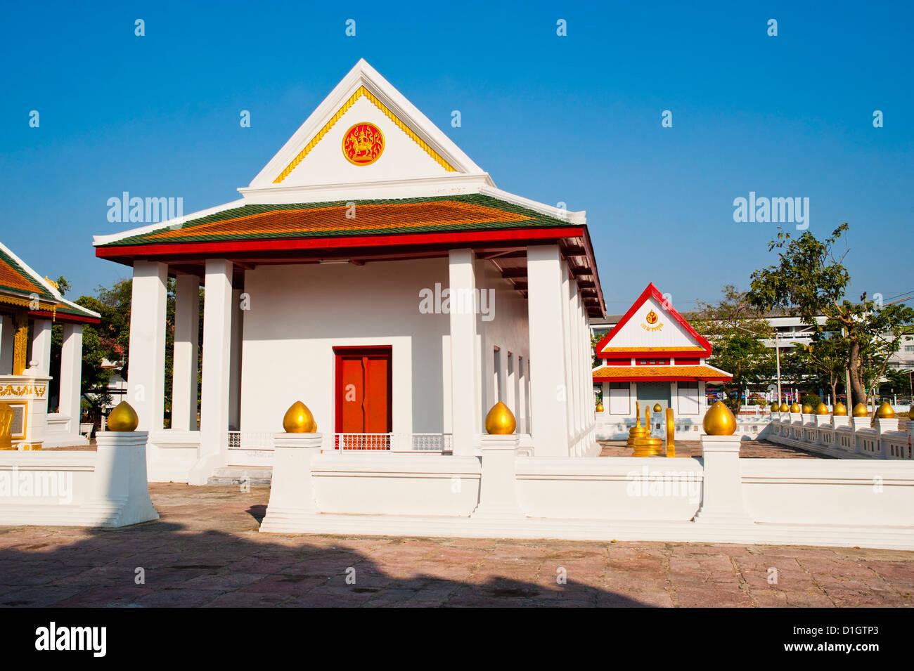 Wat Mani Chonlakhan, Lop Buri, Thailand, Southeast Asia, Asia - Stock Image