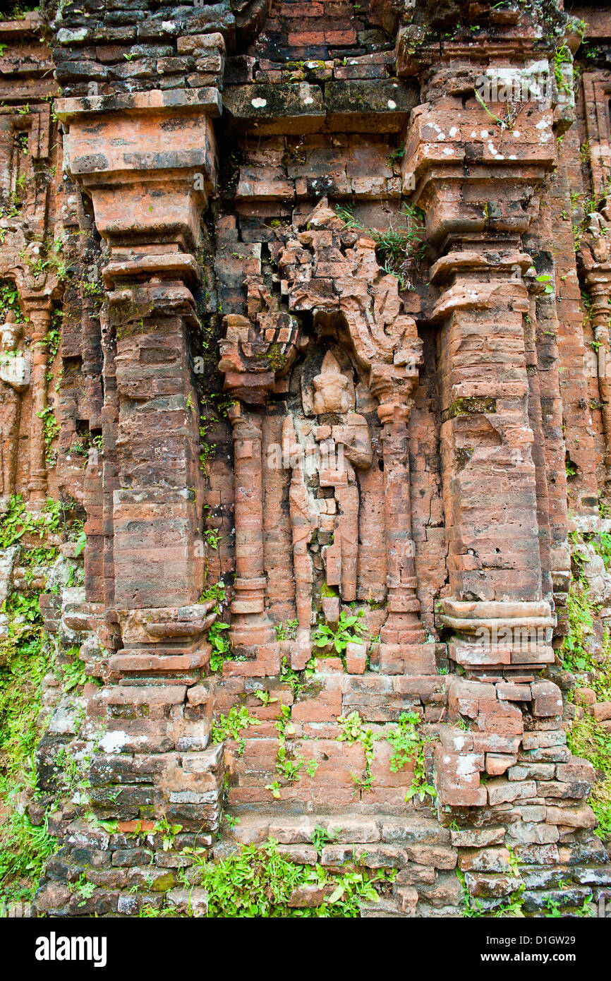 Ruins at My Son near Hoi An, UNESCO World Heritage Site, Vietnam, Indochina, Southeast Asia, Asia - Stock Image