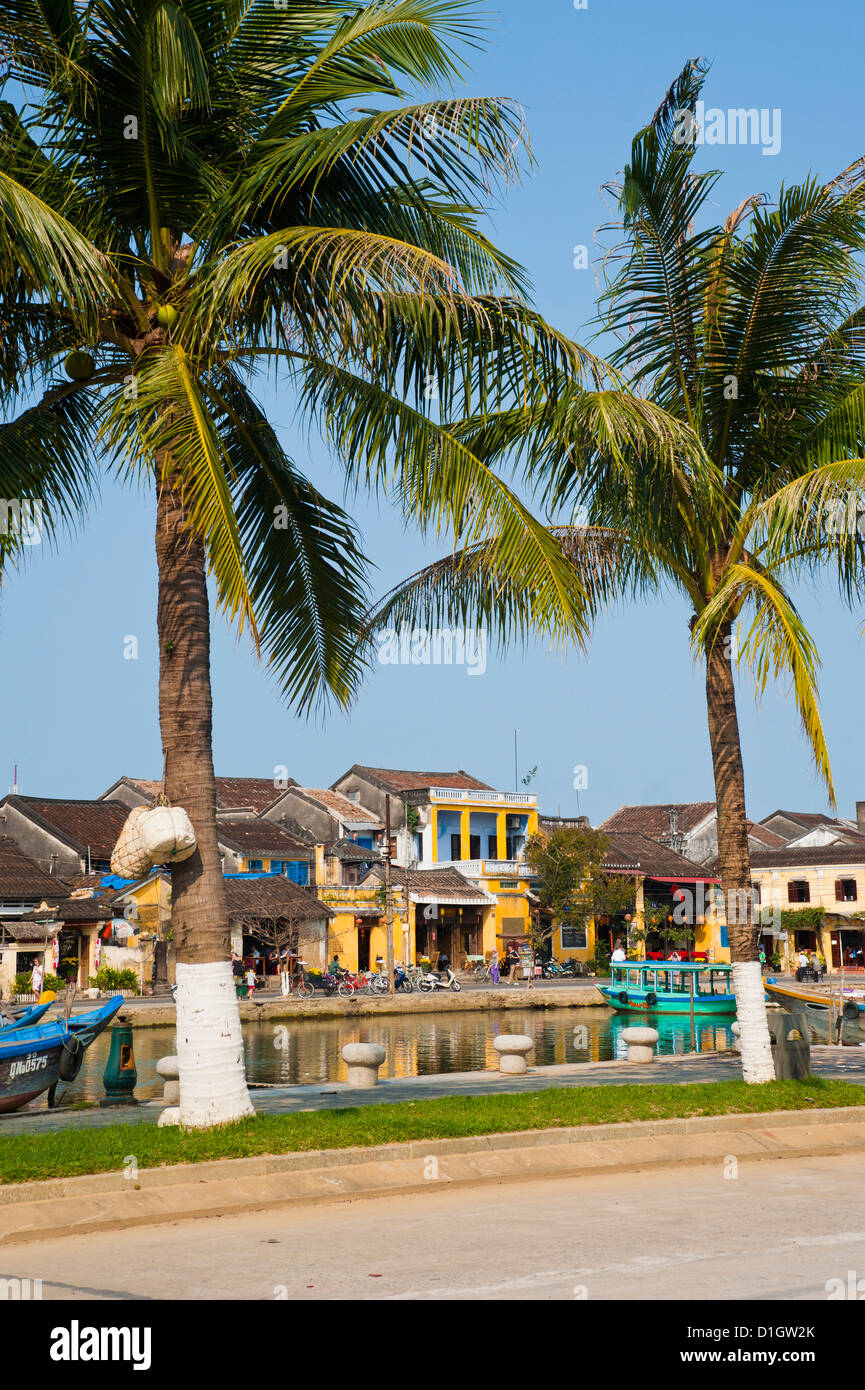 The old port area of Hoi An, UNESCO World Heritage Site, Vietnam, Indochina, Southeast Asia, Asia - Stock Image