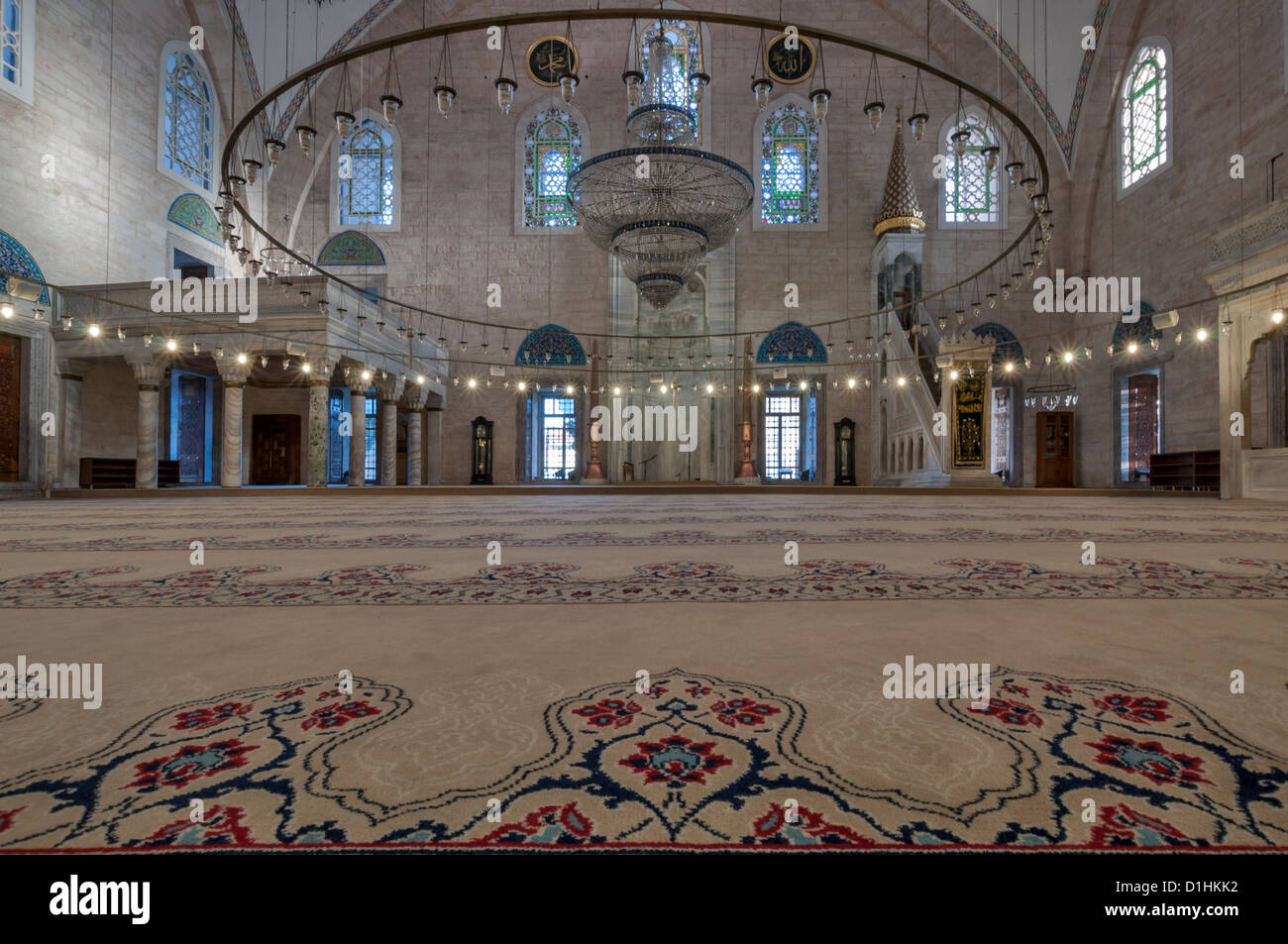 Interior of the yavuz selim mosque in istanbulturkey stock photo interior of the yavuz selim mosque in istanbulturkey thecheapjerseys Images
