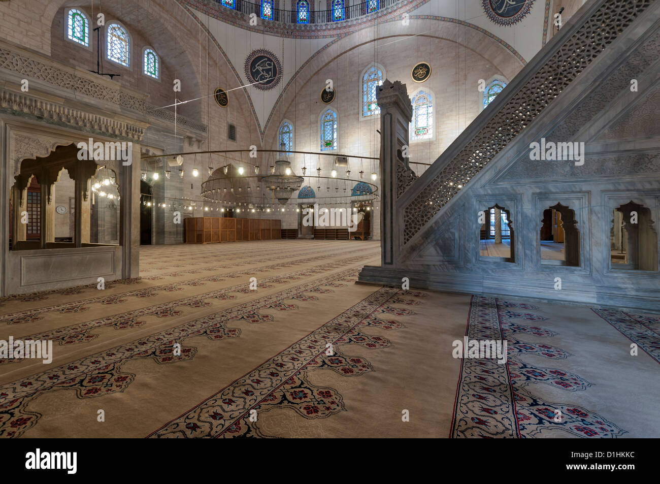 Interior of the yavuz selim mosque in istanbulturkey stock photo interior of the yavuz selim mosque in istanbulturkey thecheapjerseys
