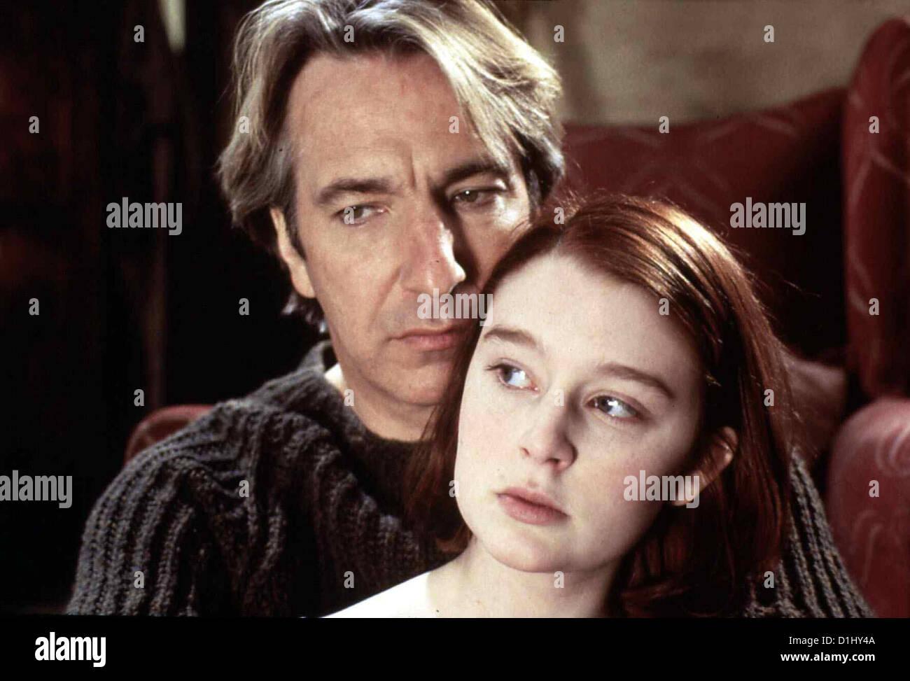 Eine Sachliche Romanze  Awfully Big Adventure,  Alan Rickman, Georgina Cates Die 16-jaehrige Stella (Georgina Cates) - Stock Image