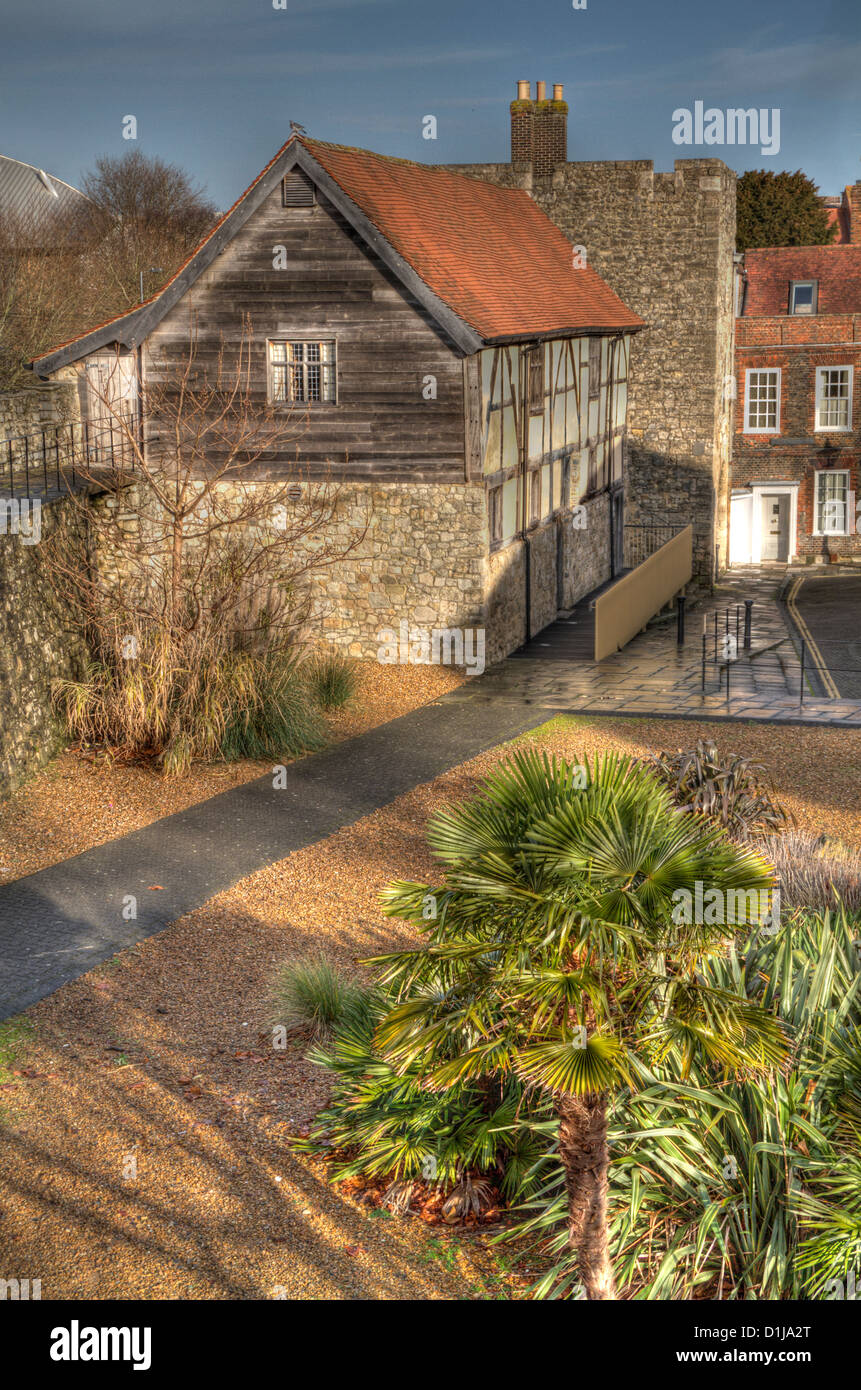 Westgate Hall, Formerly Tudor Merchants Hall, Southampton - Stock Image