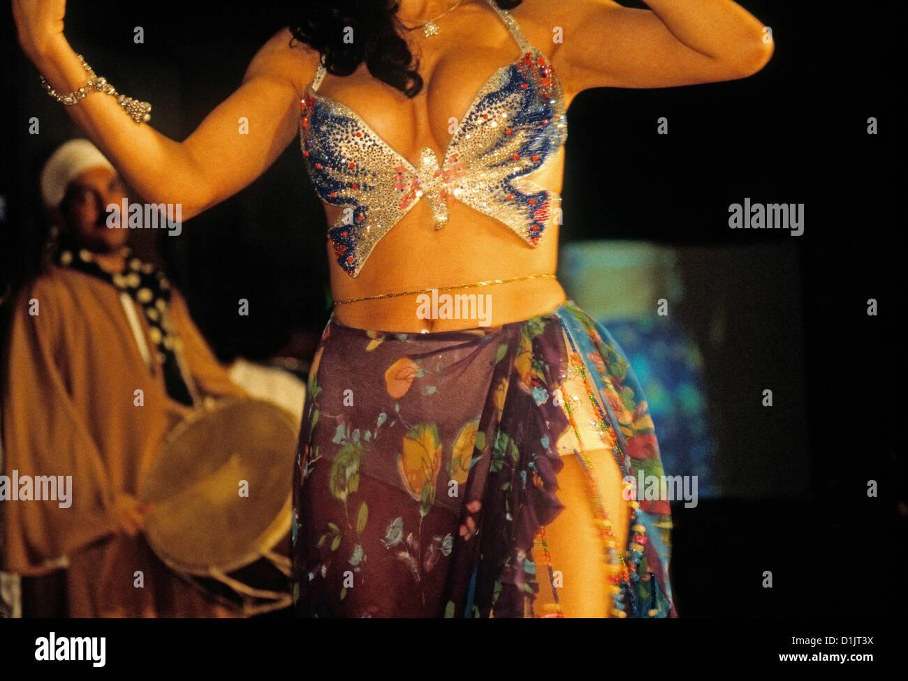 Egypt Cairo Belly dancer - Stock Image