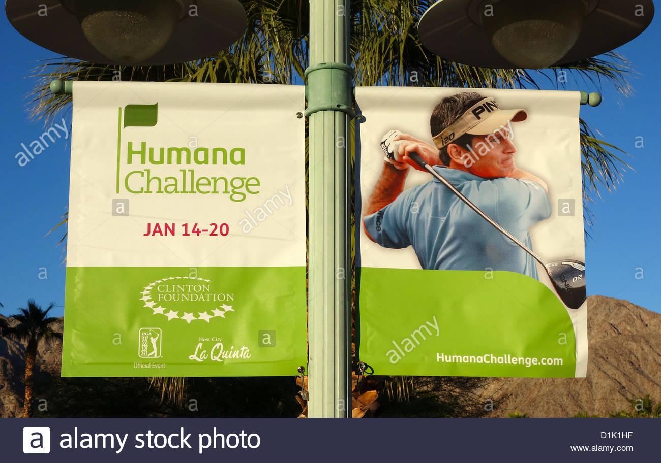 GOLF - PGA Humana Challenge 2013, Palm Springs, CA USA - Stock Image