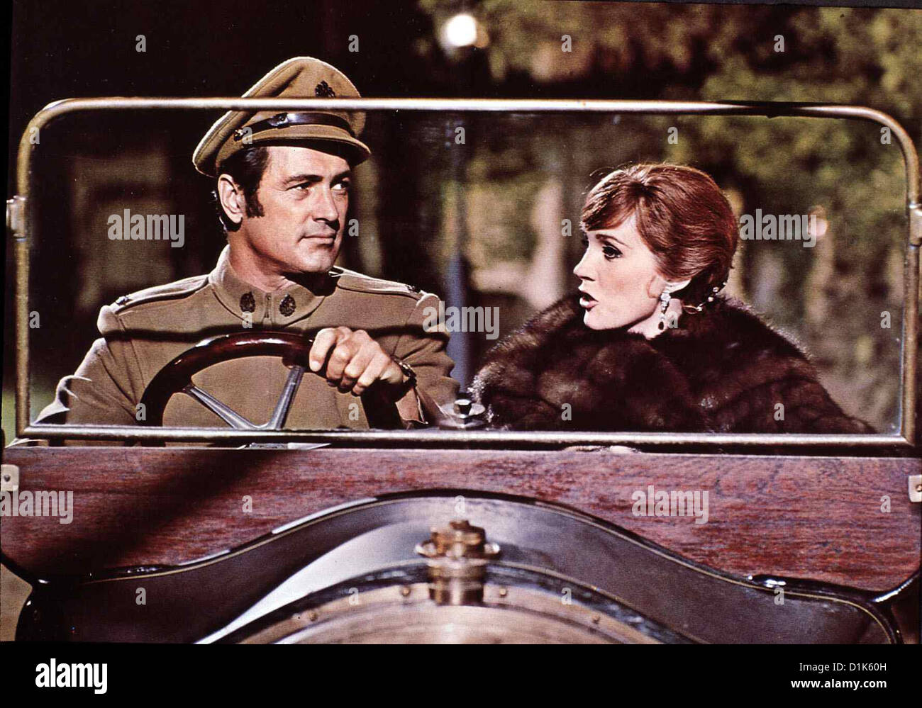 Darling Lili  Darling Lili  Rock Hudson, Julie Andrews Engländerin Lili Smith (Julie Andrews) ist als Spionin - Stock Image