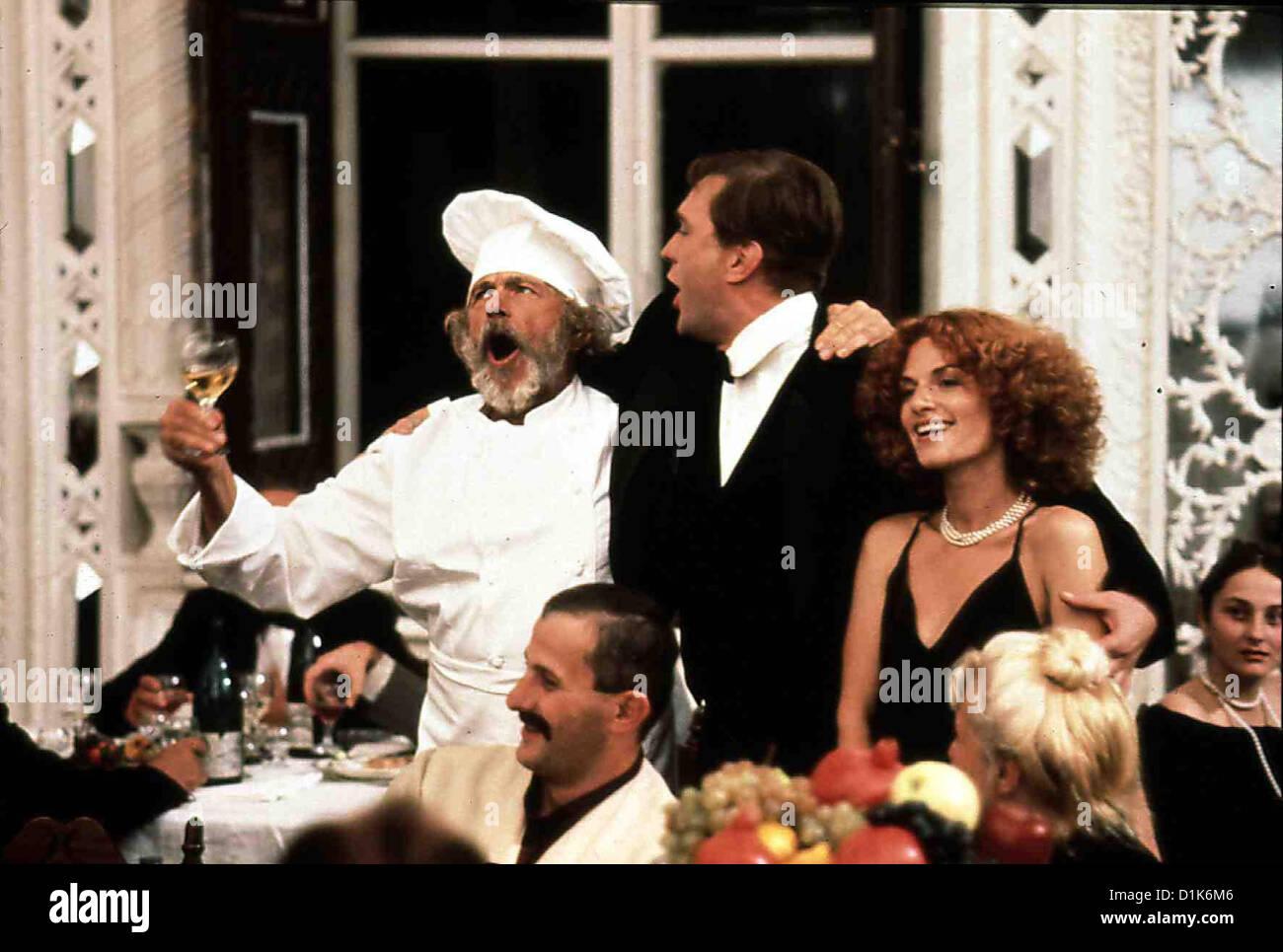 Die Rezepte Eines Verliebten Kochs  Chef In Love, (Mille Et Une Recettes D  Pierre Richard, ?, Nino Kirtadze Der - Stock Image