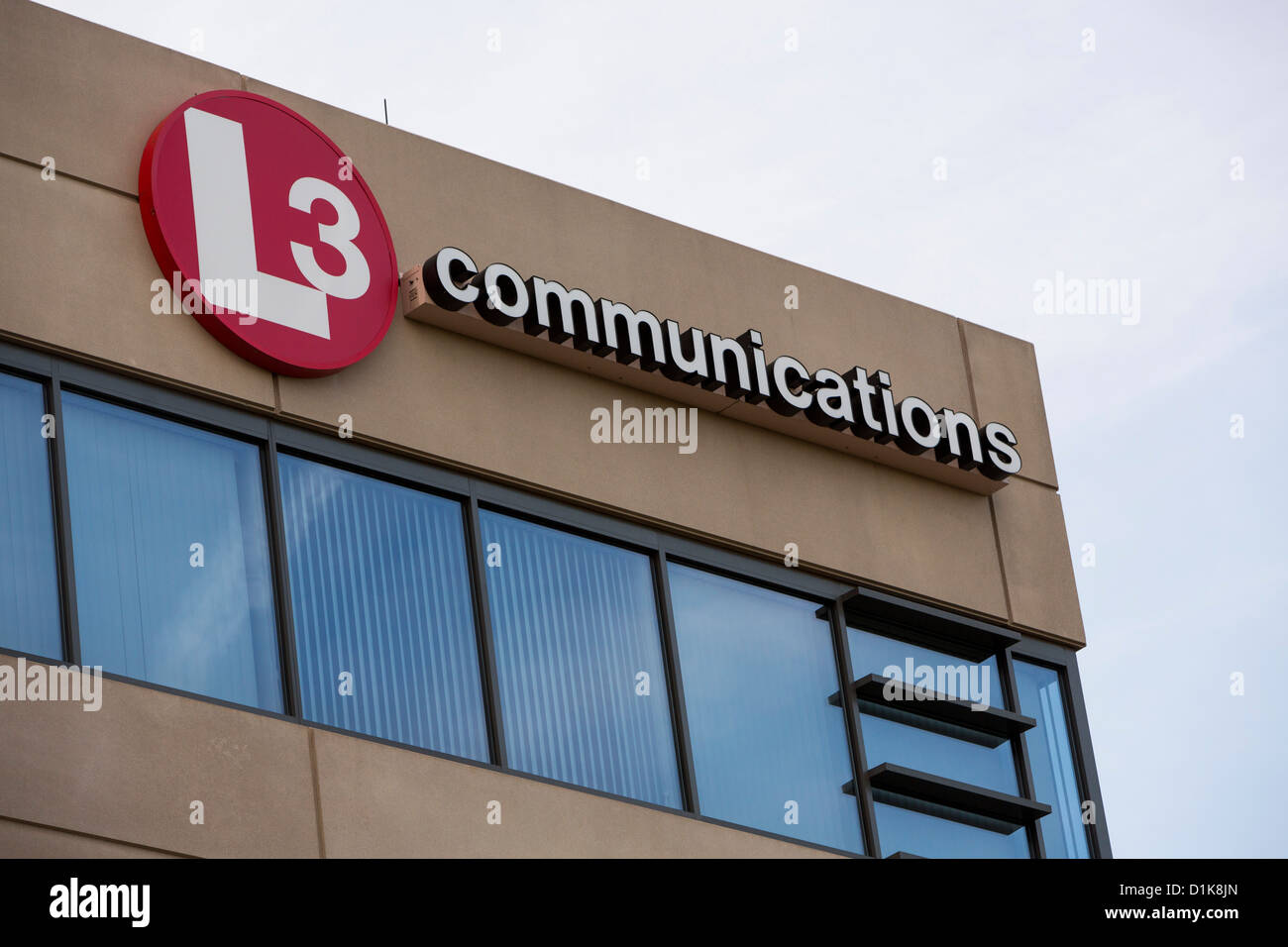 An office building occupied by defense contractor L3 Communications.  - Stock Image