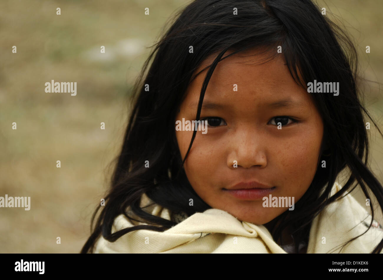 Rural nepal stock photos rural nepal stock images alamy a young girl in a nepalese village rural nepal near fewa tal lake ccuart Gallery
