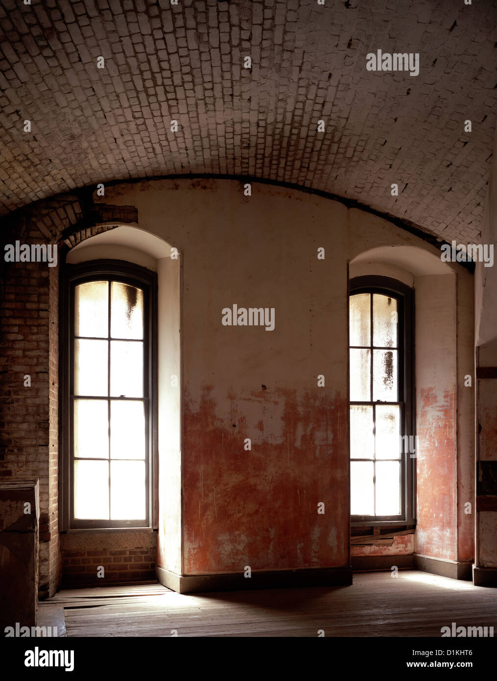 Fort Point ruins, San Francisco, Golden Gate National Recreation Area. - Stock Image