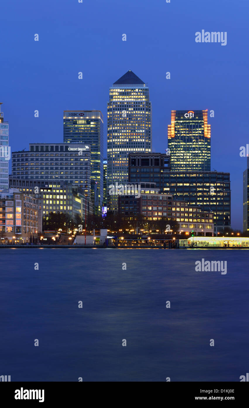 Canary Riverside, Canary Wharf Estate, Docklands, East London, United Kingdom - Stock Image