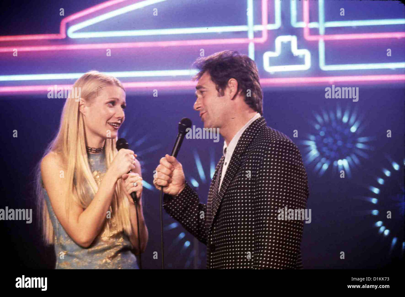 Duets   --   Gwyneth Paltrow, Huey Lewis *** Local Caption *** 1999  Hollywood Pictures - Stock Image