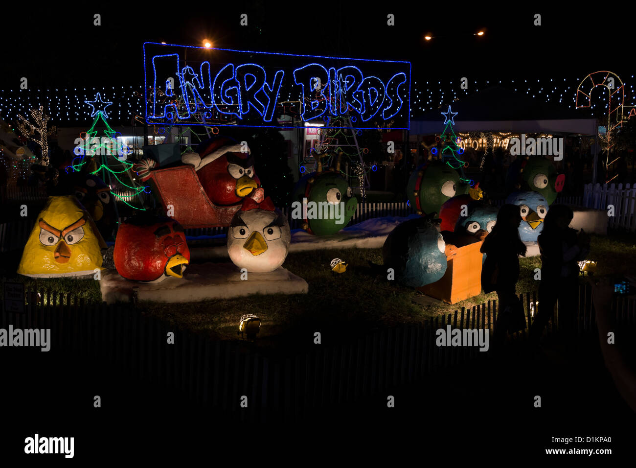 Hidalgo Christmas Lights 2021 Paper Mache Models Model Christmas Lights Hidalgo High Resolution Stock Photography And Images Alamy