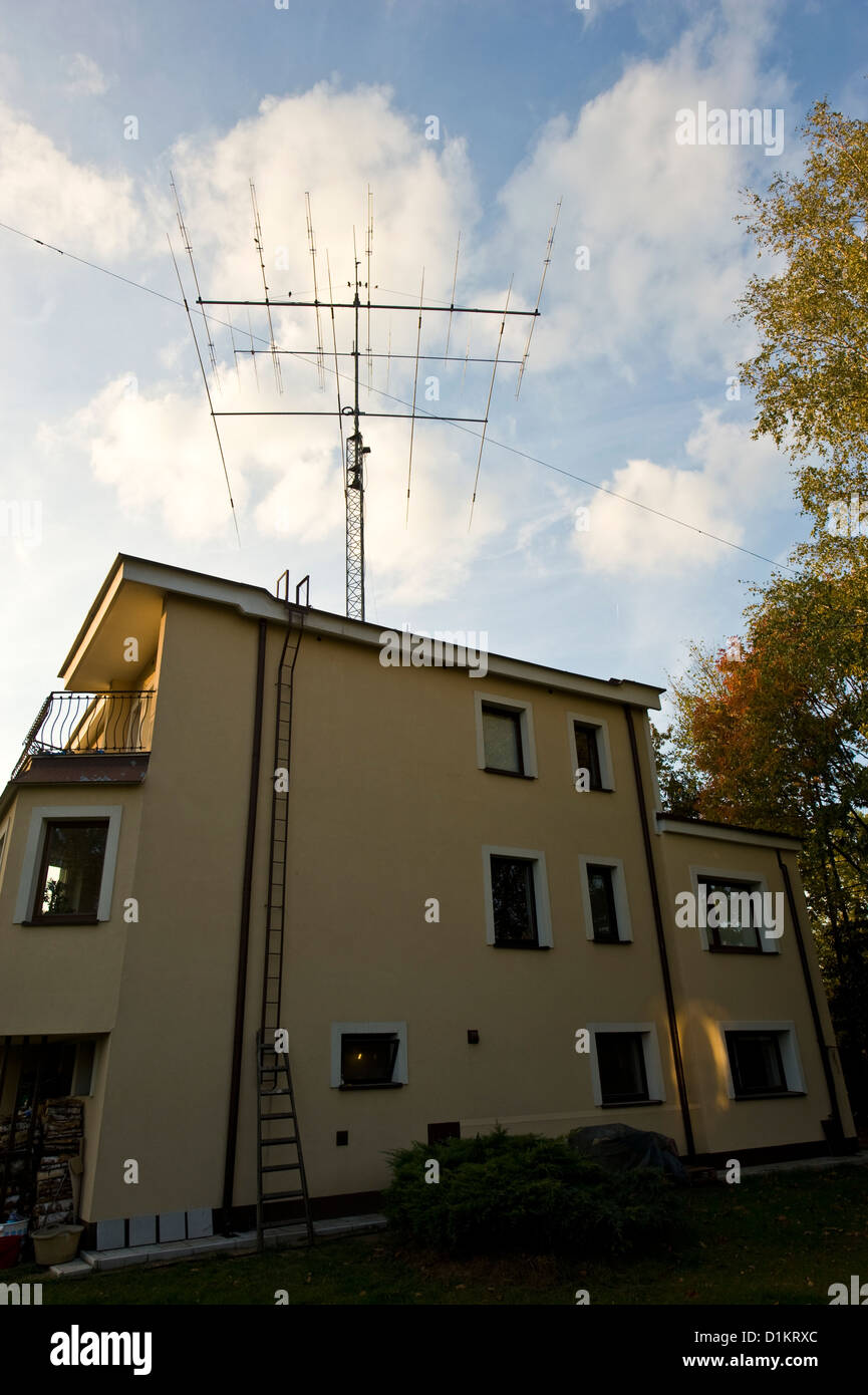 An advanced Amateur Radio station in Poland  Rotary directional