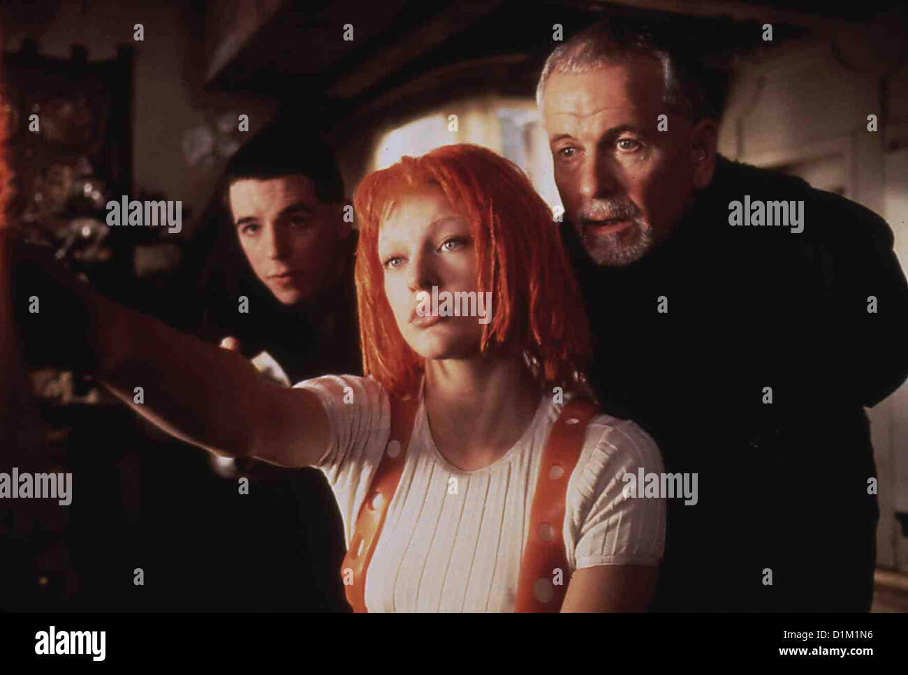 Das Fuenfte Element   Fifth Element, The   Charlie Creed Miles, Milla Jovovich, Ian Holm *** Local Caption *** 1997 - Stock Image