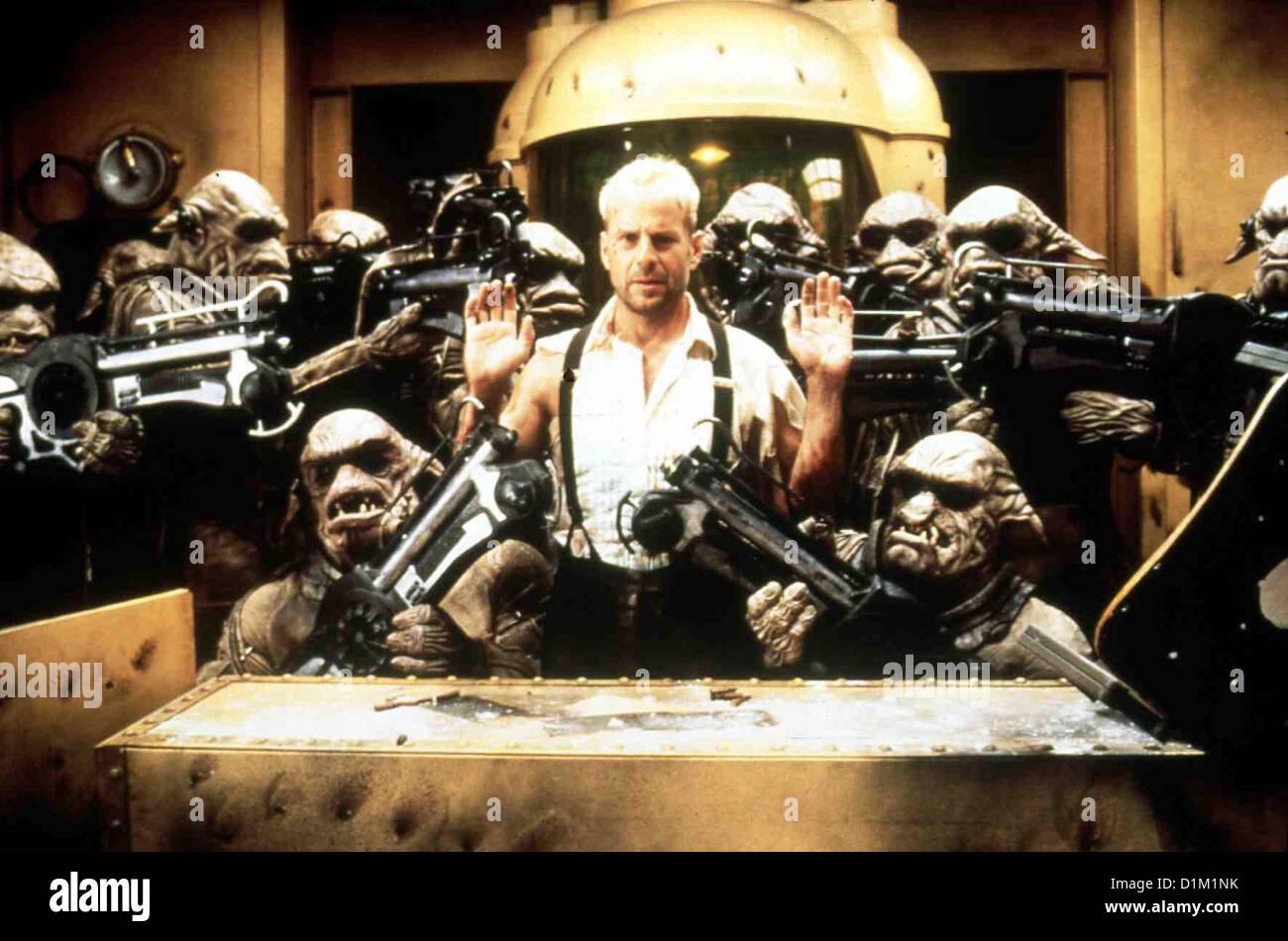 Das Fuenfte Element  Fifth Element,  Bruce Willis Korben Dallas (Bruce Willis,m), Ex-Mitglied einer Eliteeinheit - Stock Image
