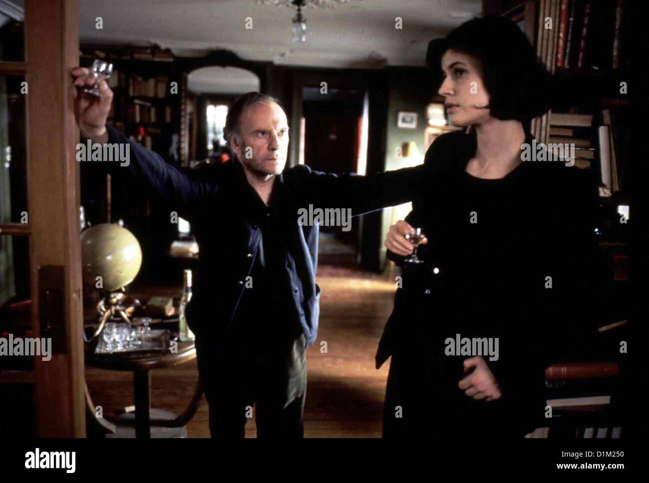 Drei Farben: Rot Film Rouge Jean-Louis Trignant, Irene Jacob Stock ...