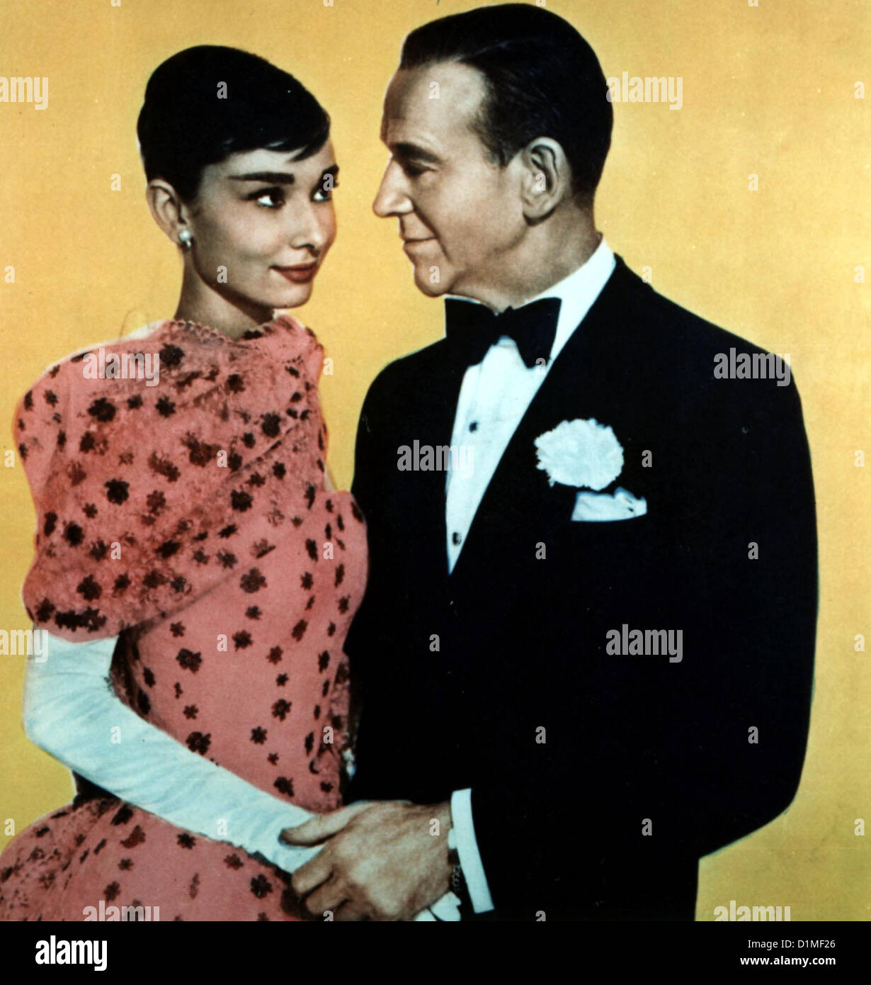 Ein Suesser Fratz   Funny Face   Audrey Hepburn, Fred Astaire *** Local Caption *** 1957  -- - Stock Image