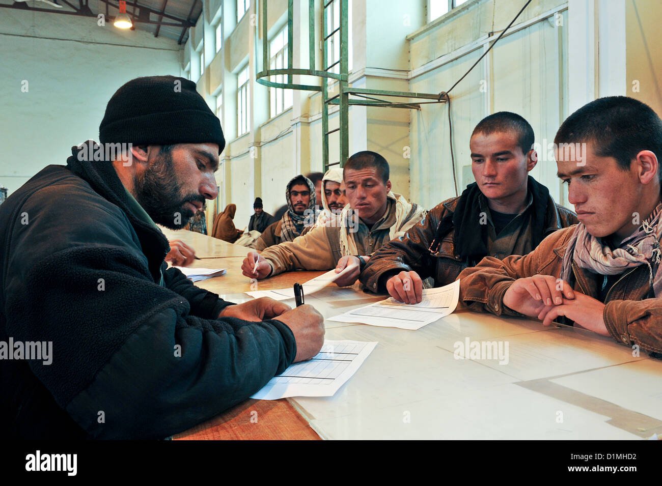 The Kabul Military Training Centre (KMTC) - Stock Image
