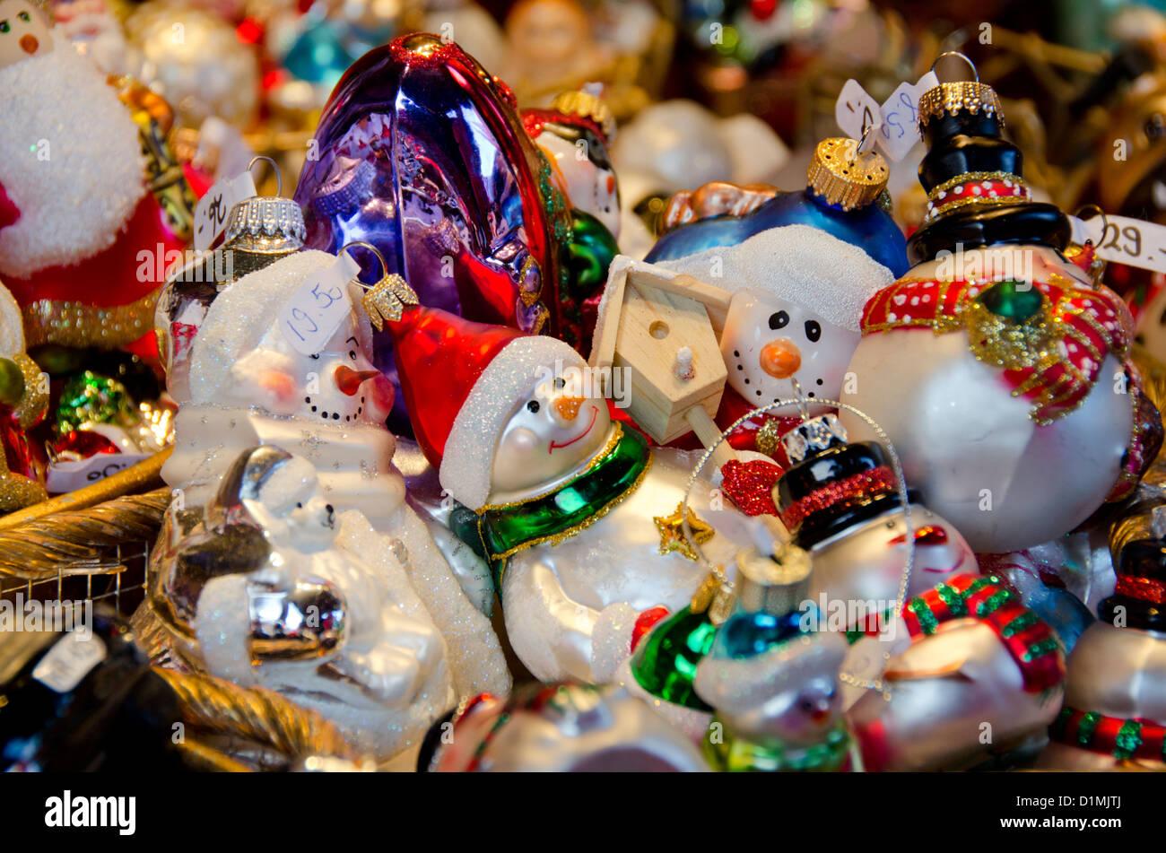 Switzerland, Basel. Basel Winter Holiday Market (aka Basler Stock ...