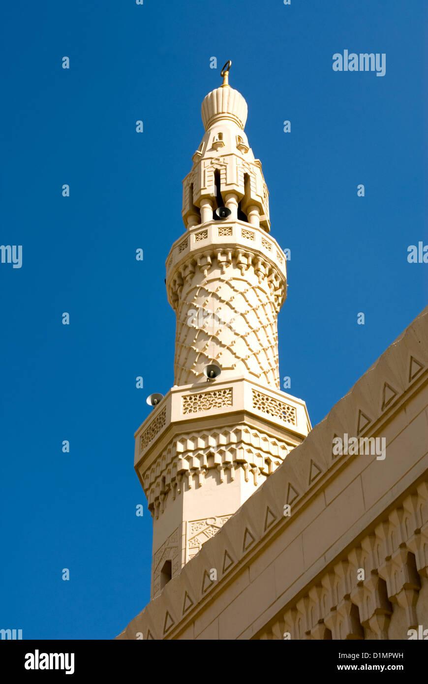 Mosque Minaret, Dubai - Stock Image