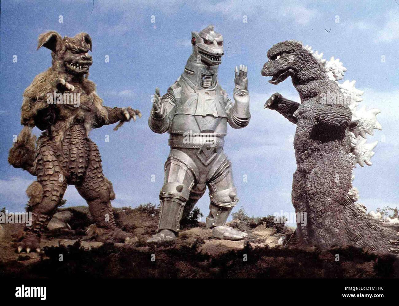 King Kong Gegen Godzilla   Gojira Tai Mekagojira   Szene *** Local Caption *** 1973  -- - Stock Image