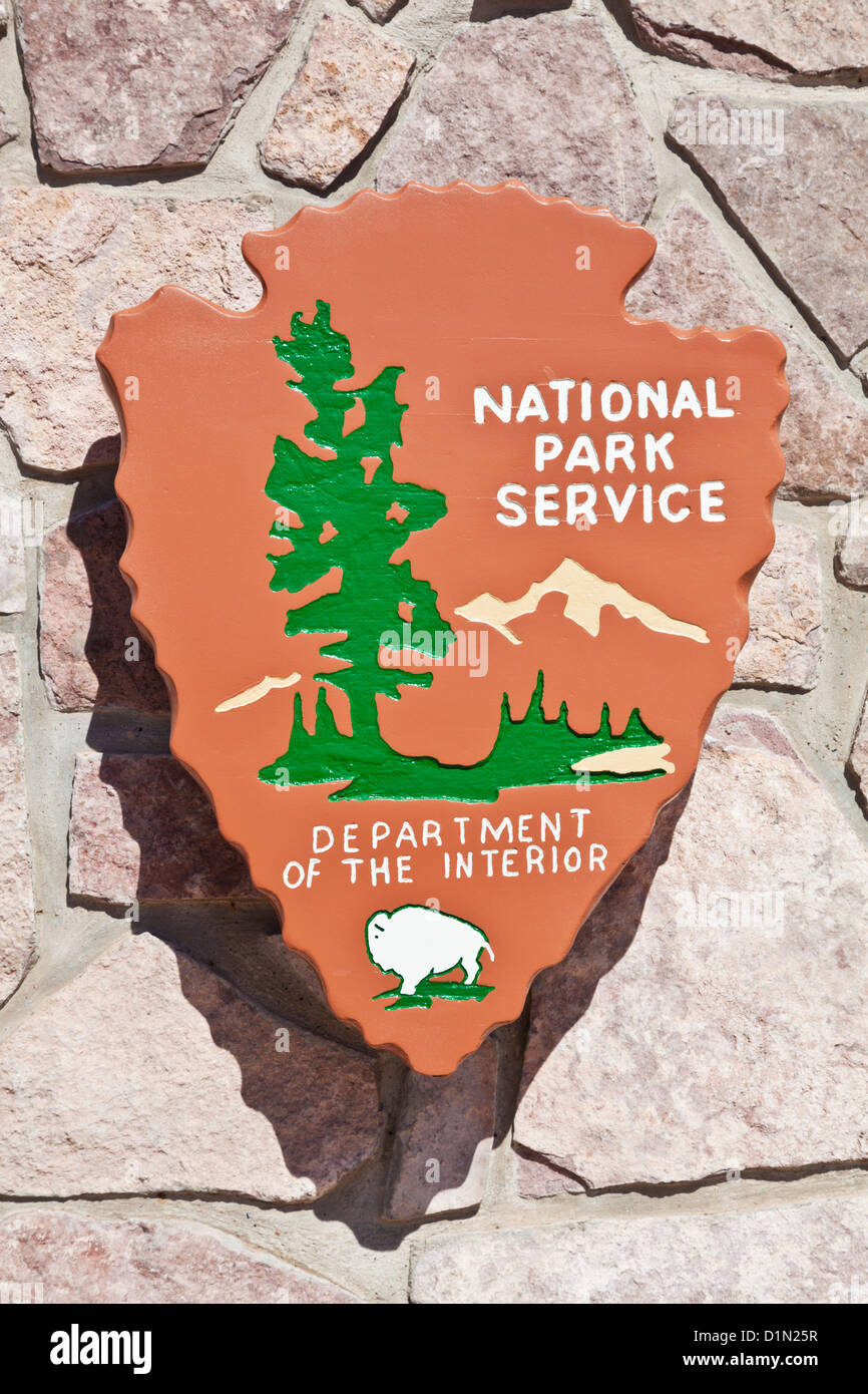 National Park Service Sign Usa Department Of The Interior United States Of  America