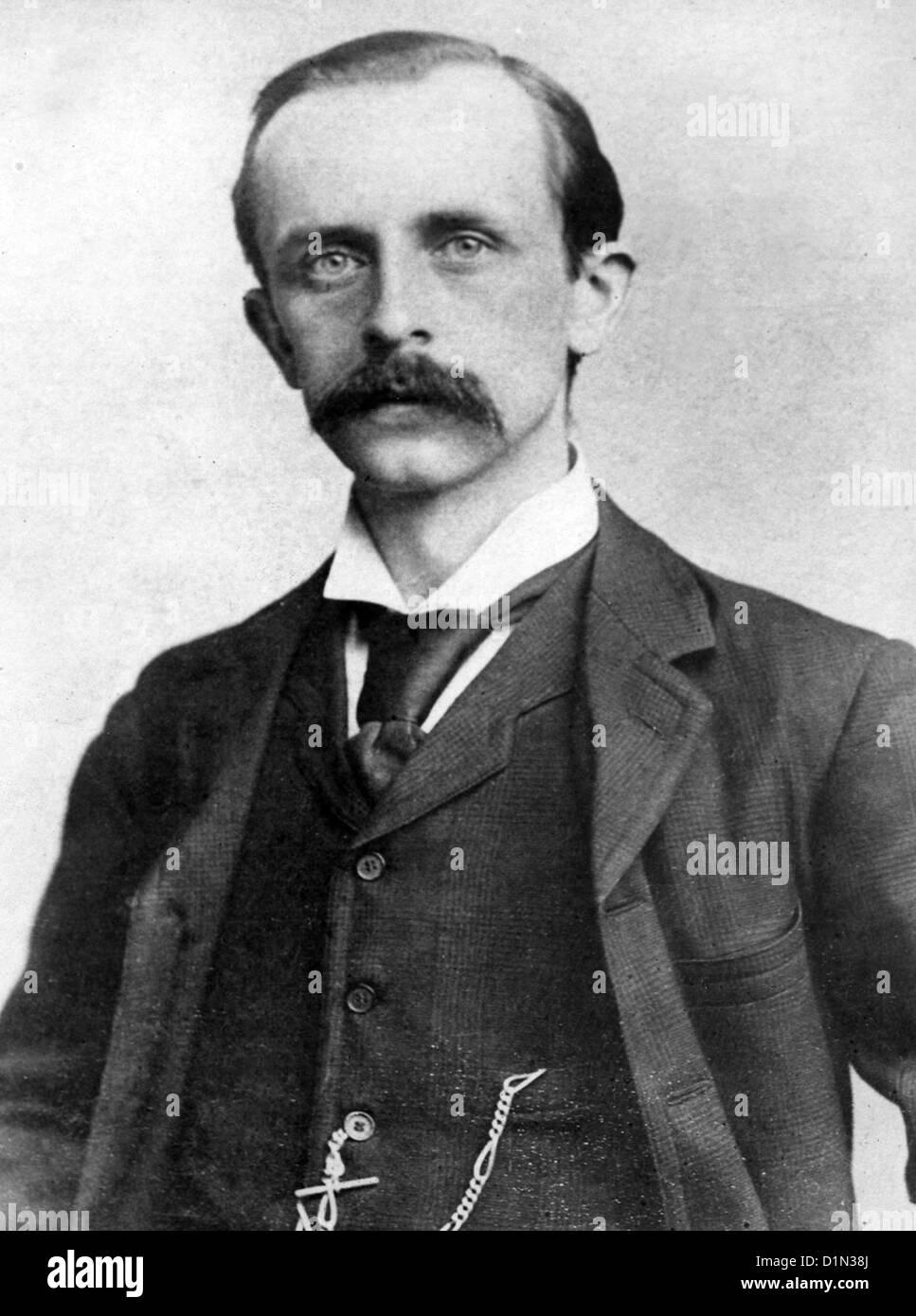 Sir James Matthew Barrie Scottish Author And Dramatist Creator Of Stock Photo Alamy