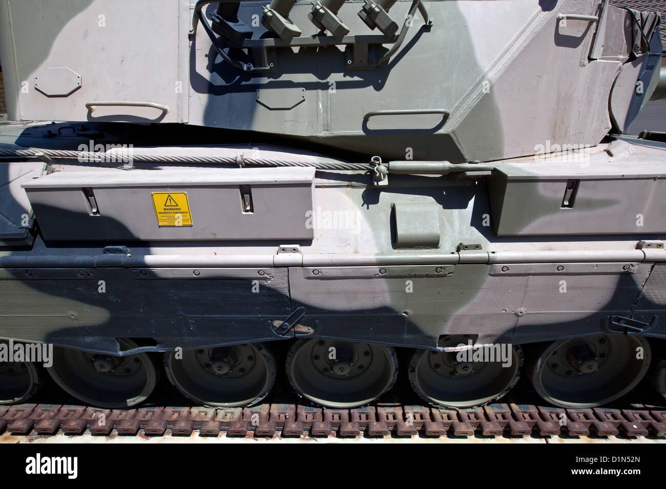 Leopard Tank - Stock Image