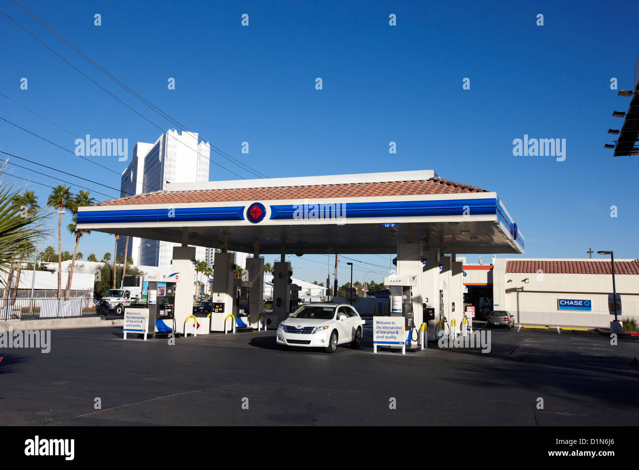Gas Station And Nevada Stock Photos Gas Station And Nevada Stock