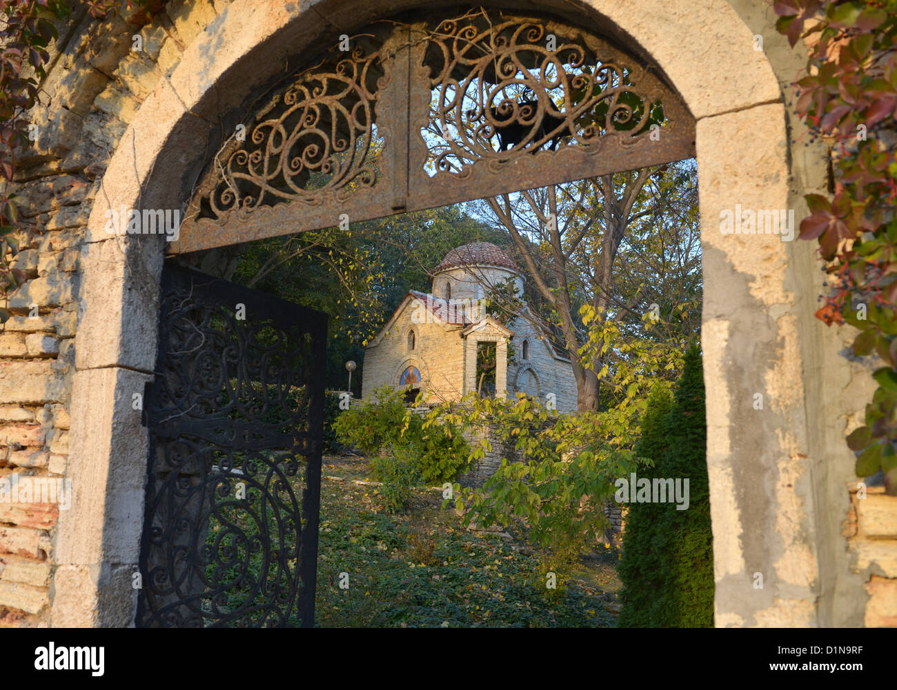 Balchik Palace, Bulgaria, Europe - Stock Image
