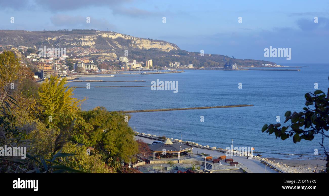 Bulgaria coastline, Bulgarian coastline, Europe - Stock Image