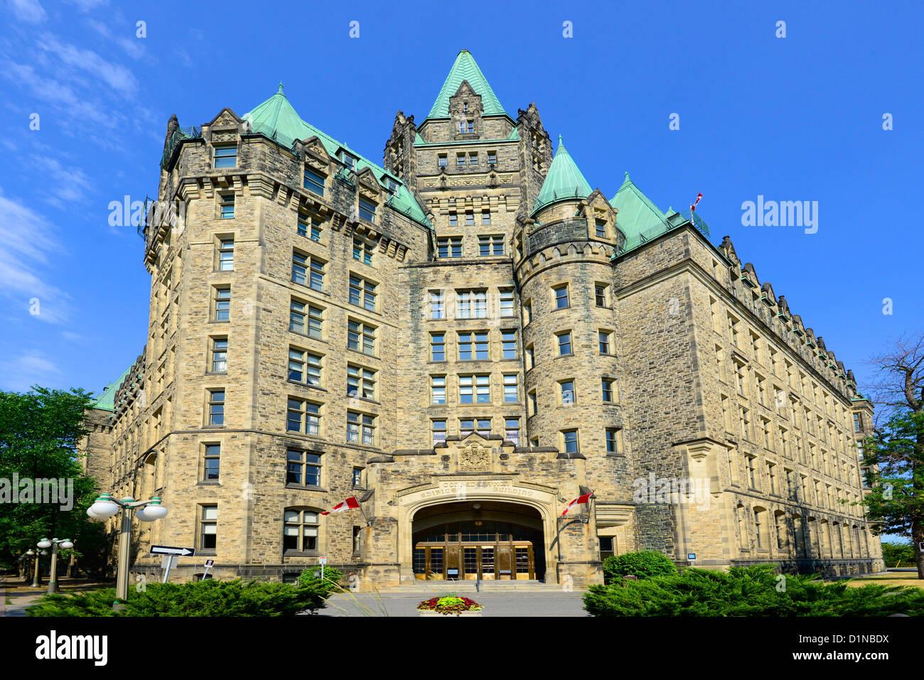 Confederation Edifice Building Ottawa Ontario Canada National Capital City - Stock Image