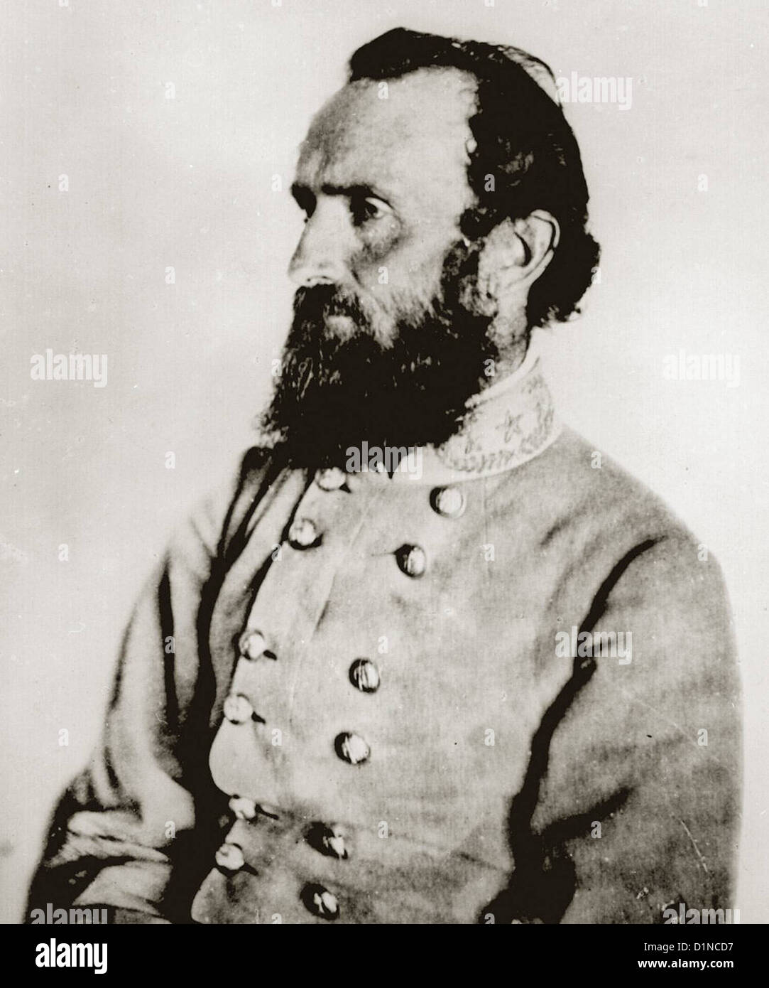 Antietam National Battlefield Maryland Confederate Soldiers  Maj. Gen. Thomas J. 'Stonewall' Jackson - Stock Image