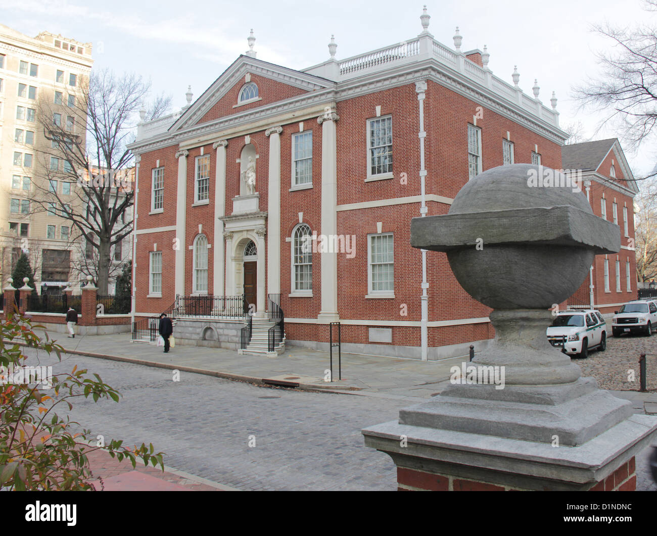 American Philosophical Society, Library Hall, Philadelphia, Pennsylvania. - Stock Image