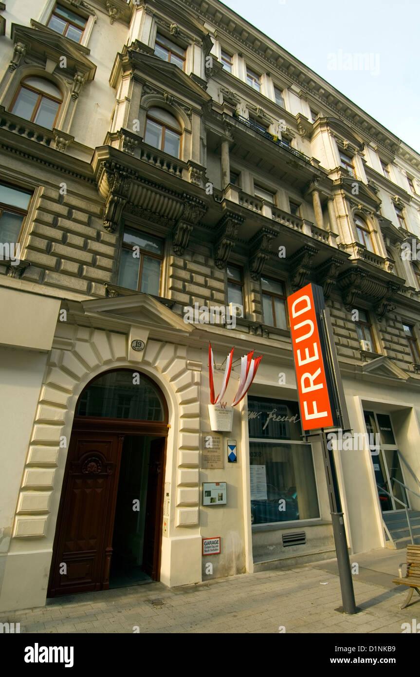 Österreich, Wien 9., Berggasse 19, Sigmund Freud Museum. - Stock Image