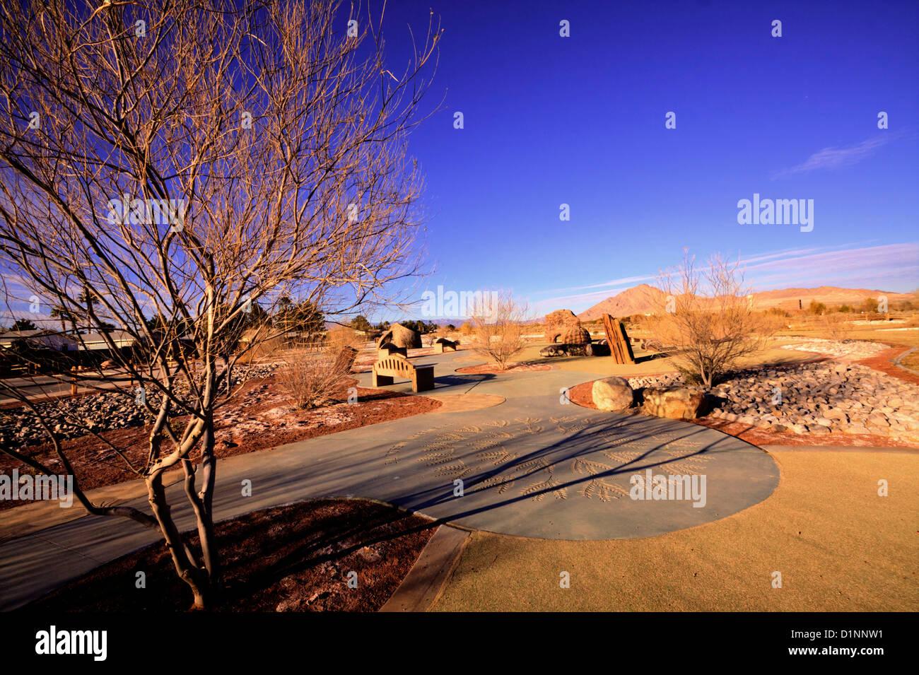 Clark County Wetlands Park, Las Vegas, NV - Stock Image