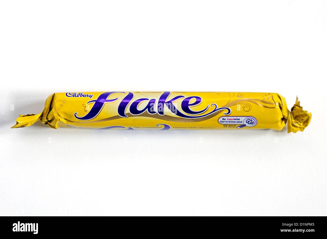 a cadbury flake bar - Stock Image