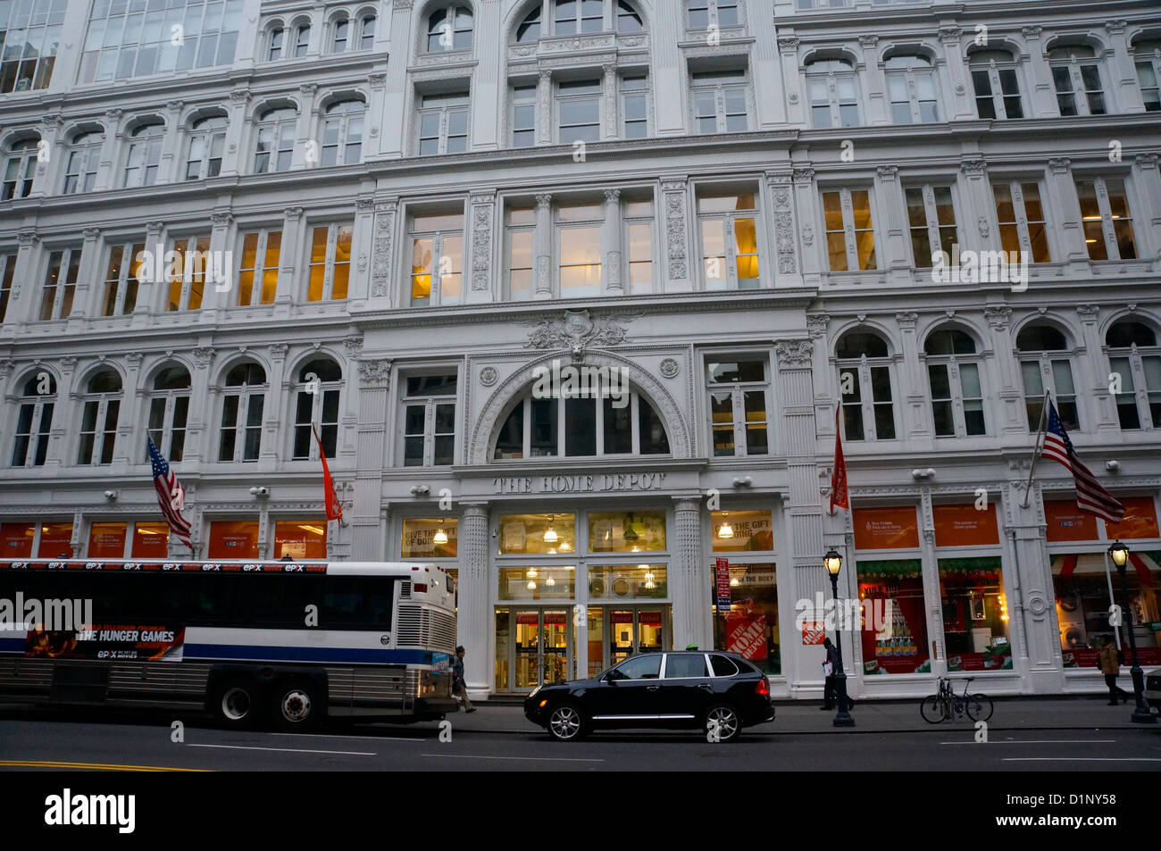 home depot store in manhattan on 42nd street new york city ny