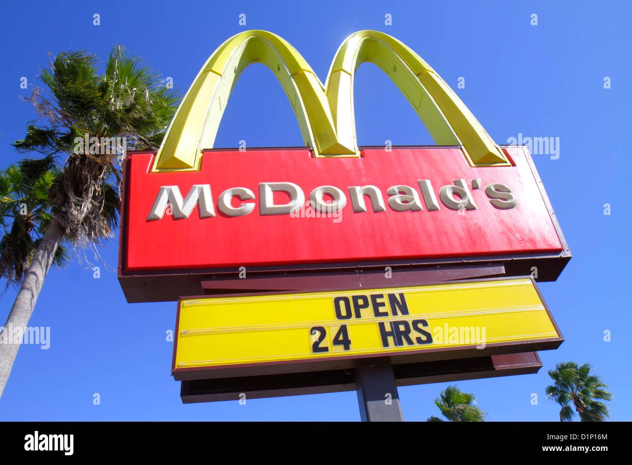 Miami Homestead Florida City Florida Mcdonald S Restaurant Fast Food