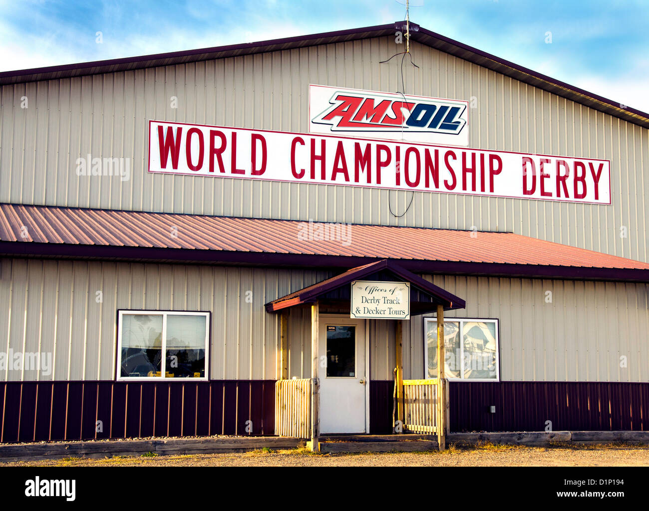 AMSOIL World Championship Derby in the Northwoods town of Eagle River, Wisconsin - Stock Image