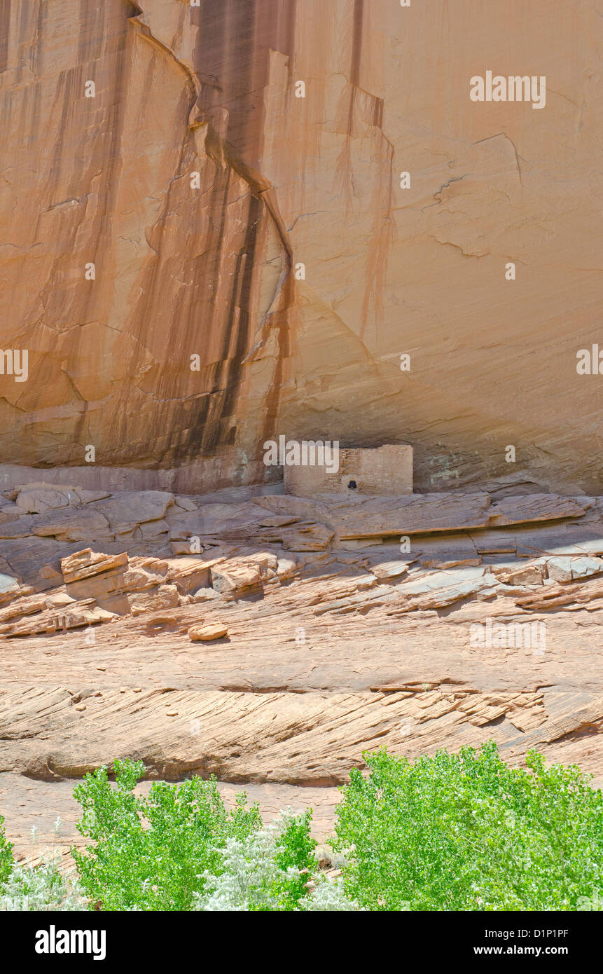 Canyon de Chelly National Monument Arizona ancient home to the  Ancient Pueblo Peoples (also called Anasazi) and - Stock Image