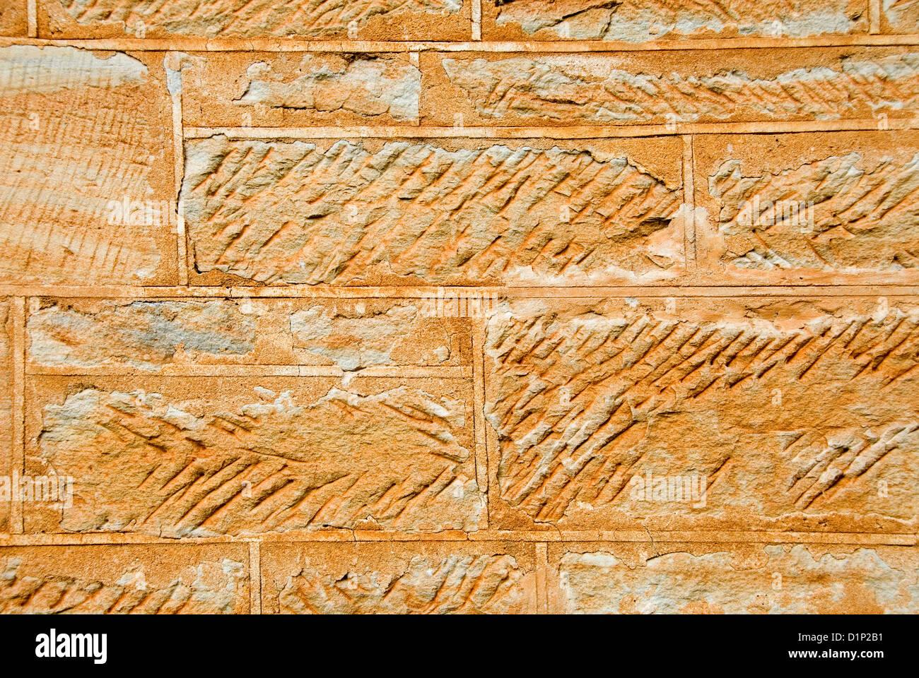 Sandstone Block Wall Stock Photos & Sandstone Block Wall Stock ...