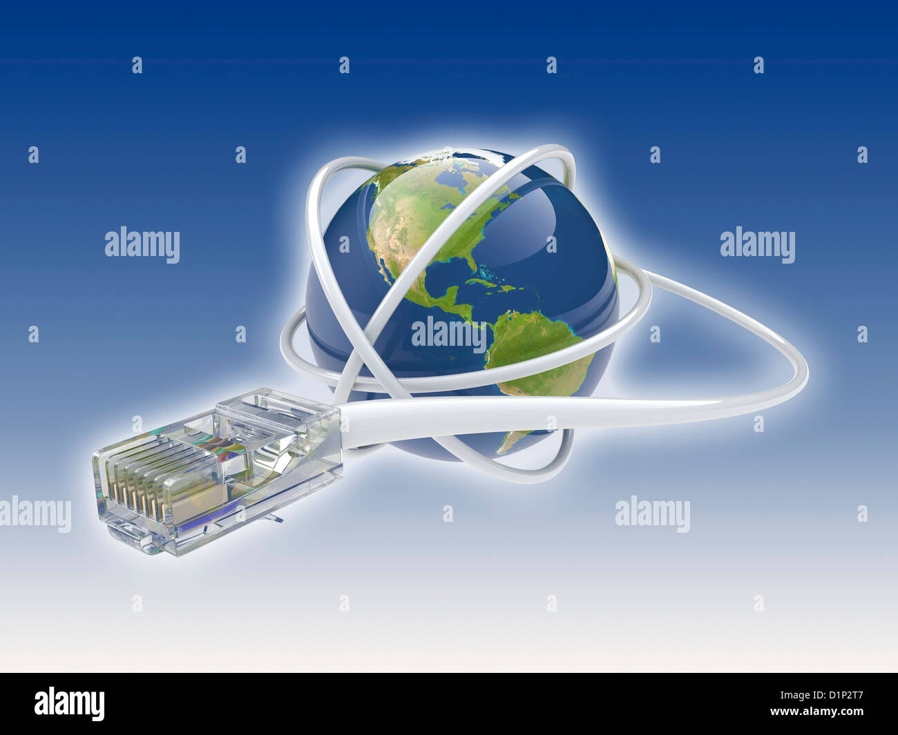 World wide web, conceptual image - Stock Image