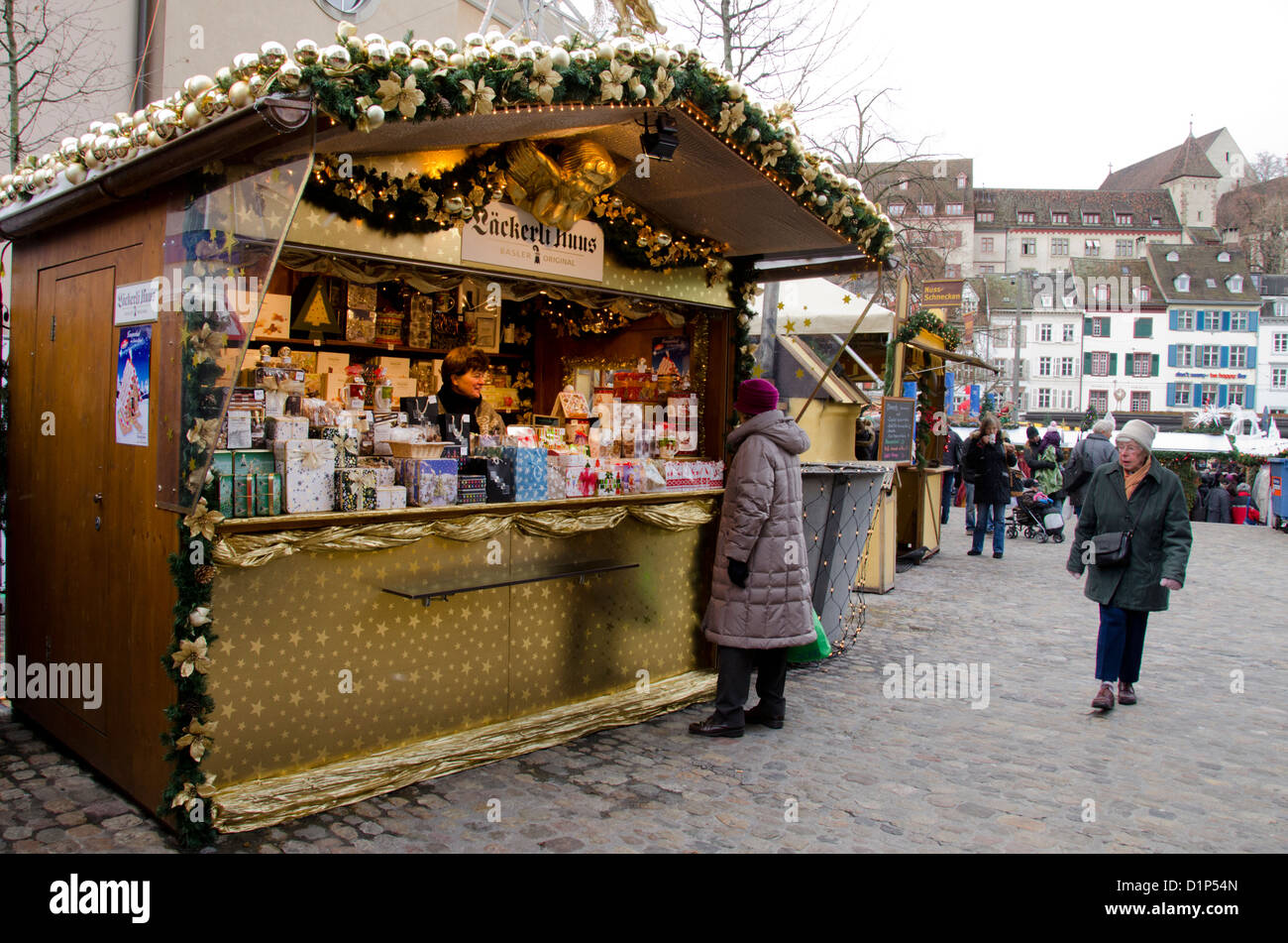 basel christmas market stock photos basel christmas. Black Bedroom Furniture Sets. Home Design Ideas