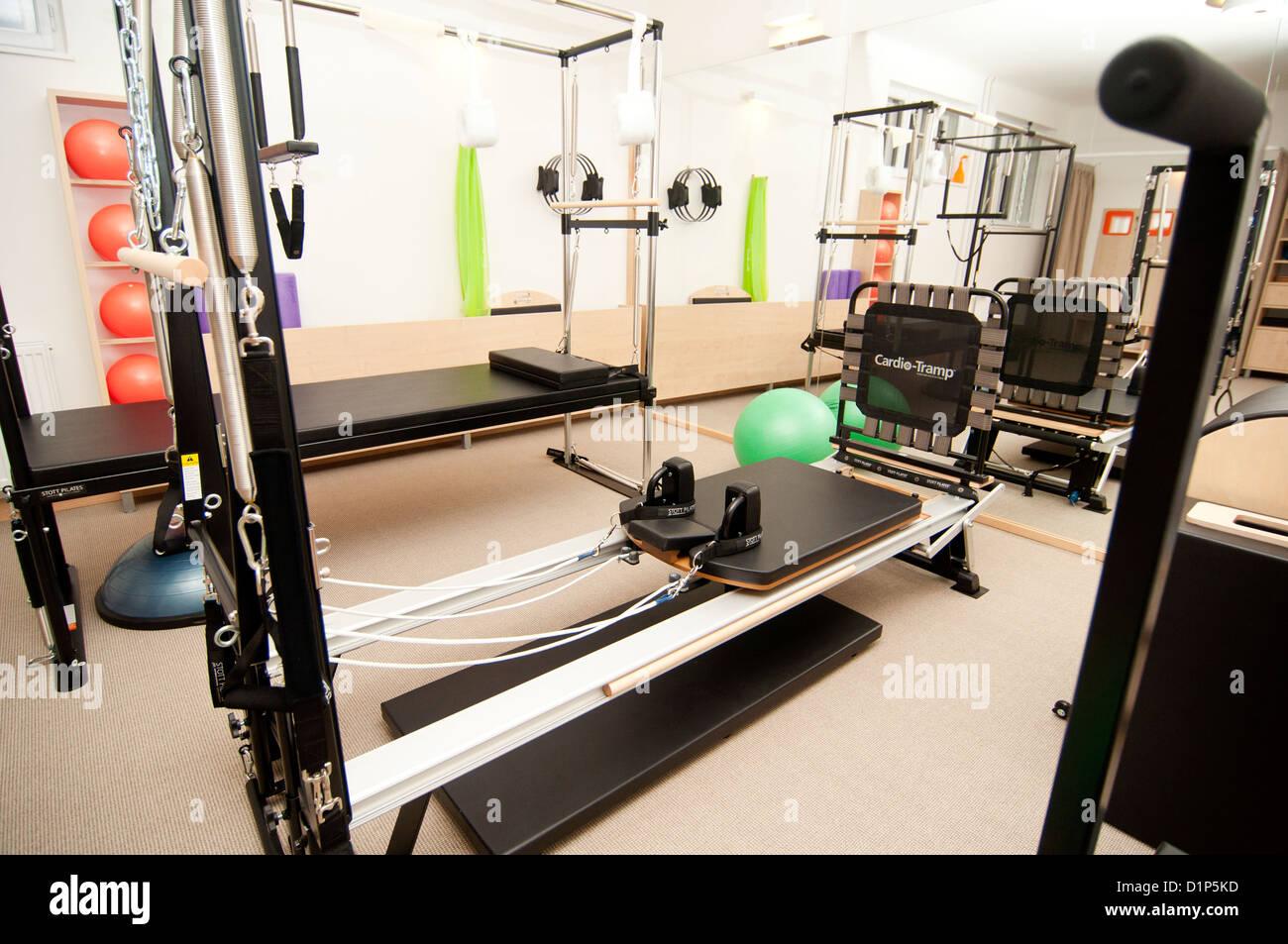 Pilates studio - Stock Image