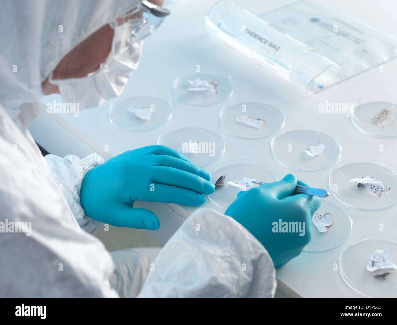 Forensic science - Stock Image