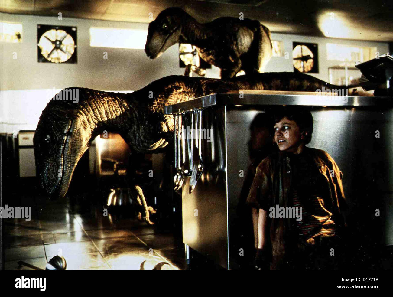 Jurassic Park   Jurassic Park - Hr   Joseph Mazzello *** Local Caption *** 1993  Universal Pic., clips 06/97 - Stock Image